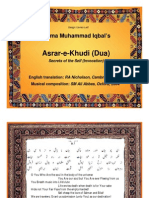 Iqbal-AsrareKhudi