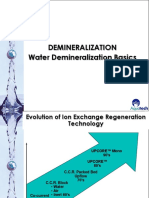 Water Demineralization Basics