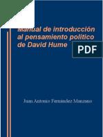 2015 Manual de introducción al pensamiento político de David Hume