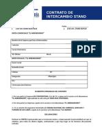 Contrato Intercambio Stand 18 Sep