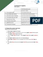 5-2 Present Simple- Negative Exercise.docx