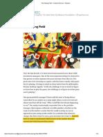 The Playing Field – Graham Duncan – Medium
