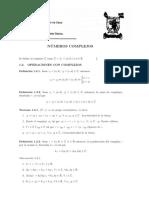 Resumen Numeros Complejos