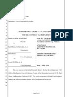 B v McMullin Default Purposed Judgment 062314