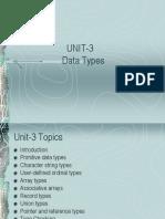 Unit-2 Ppl Datatypes