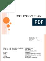 Ict Lesson Plan