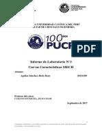 Laboratorio 3 MECH Curvas Caracteristicas pucp