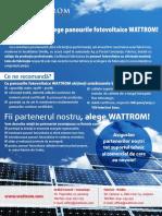WATTROM prezentare panouri fotovoltaice.pdf