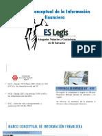 El Salvador Legis - Marco Conceptual de La Informacion Financiera