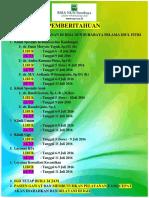 Jadwal Libur Pelayanan Hari Raya 2016