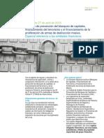 2015_PA_Capsula Informativa - Ley 23-Prevención de Blanqueo de Capital_Ent_Finan
