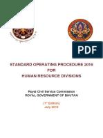SOP for HR Officers