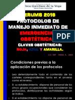 Protocolo de Atencion en Claves Obstetricas- Serums 2016-Lic Shari Arce