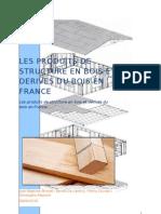 Les produits de structure en bois et dérives du bois en France