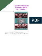 Alexandru Mitru - Legendele Olimpului Vol-1 - Zeii.pdf