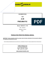 A29 Instructions Manual Sames Kremlin 582056110 Uk