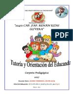 PROGRAMACION ANUAL DE TUTORIA