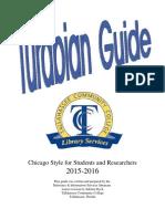 Turabian Guide