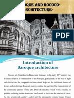 Baroque and Rococo ARchitecture (1)