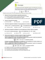 Unidad 4.0. Ficha Porcentaxes SM 17