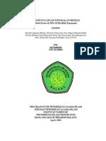 Contoh Proposal Karya Ilmiah Tema Kebersihan Lingkungan