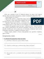 Texto - Vasco Da Gama