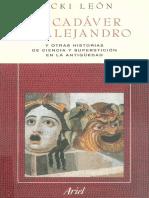 Vicki Leon - El Cadaver de Alejandro .pdf