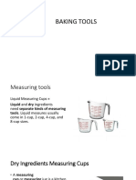 Kinds of Baking Tools
