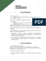 Cirrículum de María Elósegui 2011