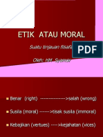 Etik Atau Moral