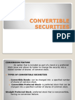 Convertible Securities