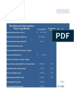 The Demand Generation Time Lag Model
