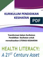 3. Kurikulum Pendidikan Kesihatan.ppt