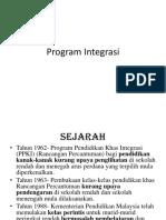 Program Integrasi.