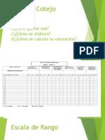 Diapositivas Sobre Tecnicas y Herramientas de Evaluación