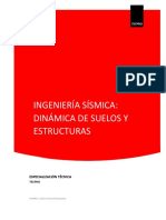 Especialización Técnica en Ingeniería Sísmica Dinámica de Suelos y Estructuras