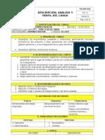 Dc-003 Descripción Cargo Administrador