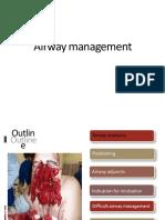 1. Airway Management
