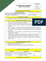 Dc-005 Descripcion Cargo Director Juridico