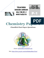 Chemistry Classified p1a