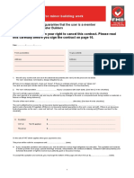 F220 - 2014 07 11 Domestic Contract for Minor Building Work
