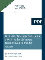 Guia Para a Elaboração de Projetos de Aterros Sanitários Para Resíduos Sólidos Urbanos (CREA-PR)