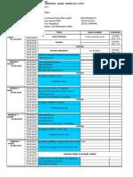 Jadwal Biomedik 1 2017