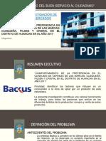 investigacion de mercADO DE BACKUS