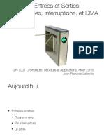 21. Entrees sorties programmees, interruptions, DMA.pdf