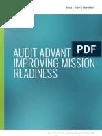 Audit Advantage Improving Mission Readiness