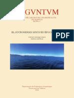 Arqueologia e Historia Del Sucronensis Sagunto