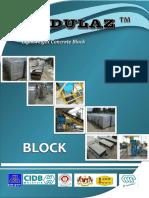 Modulaz Lightweight Concrete Block