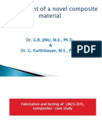 Development of Novel Composite Material