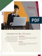 CFA Examinations Guide